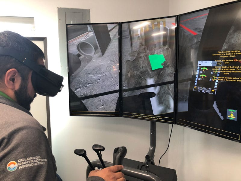 Next Gen simulator training VR