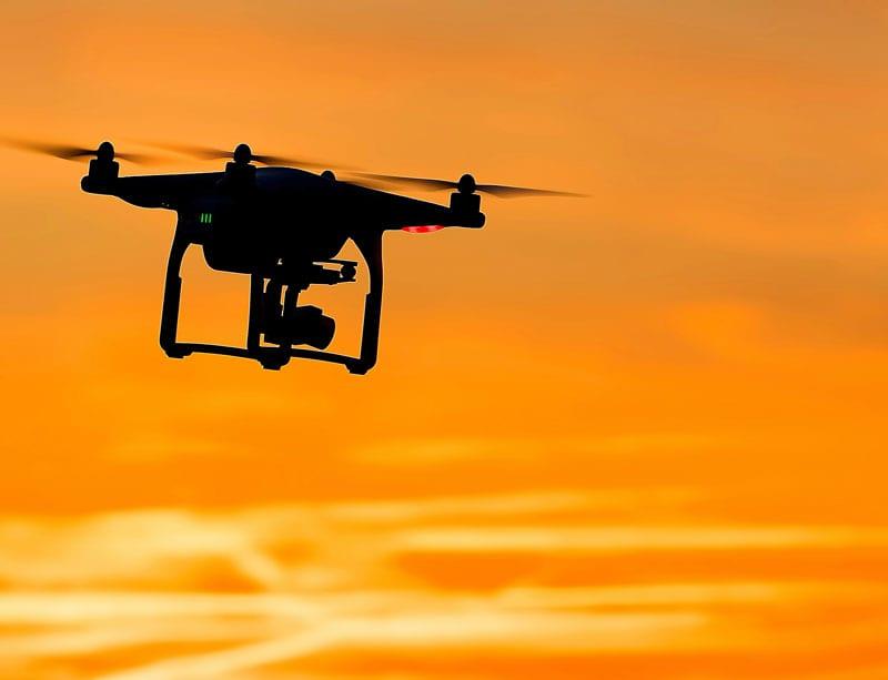 Drone training at Next Gen