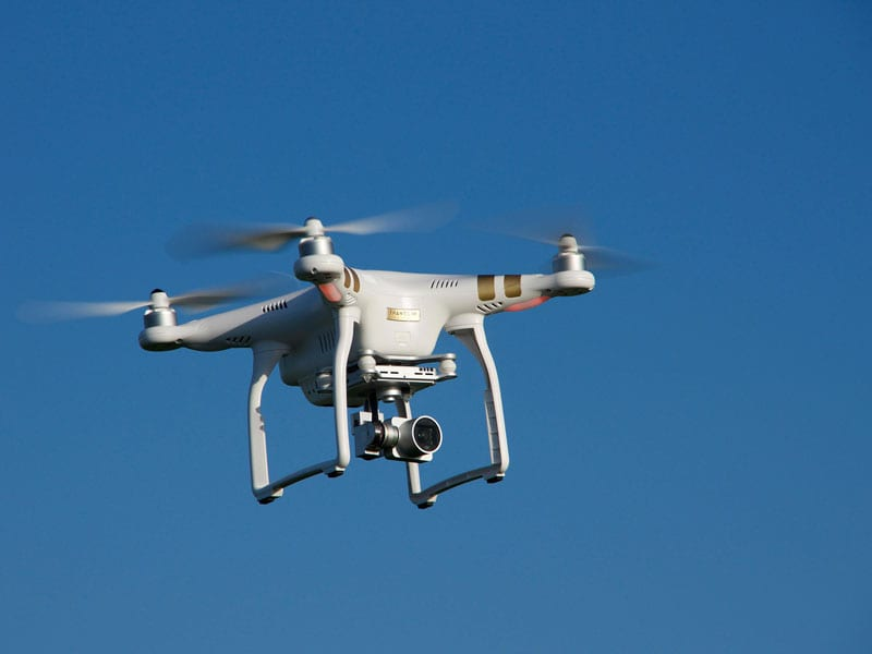 Drone training for commercial use