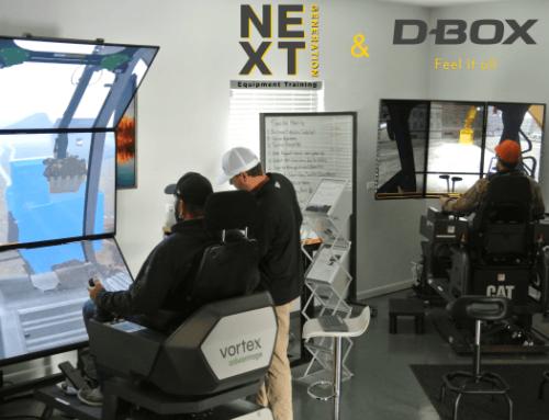 D-BOX and Simulator Based Equipment Operator Training